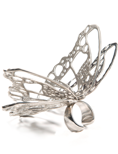 EMPRESS BUTTERFLY RING