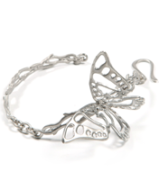 BUTTERFLY ON BRANCH BRACELET