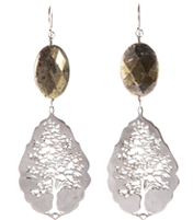 WINTER GIVING TREE EARRING