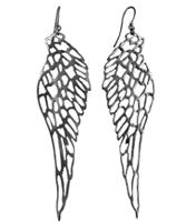 BIRD WING EARRING