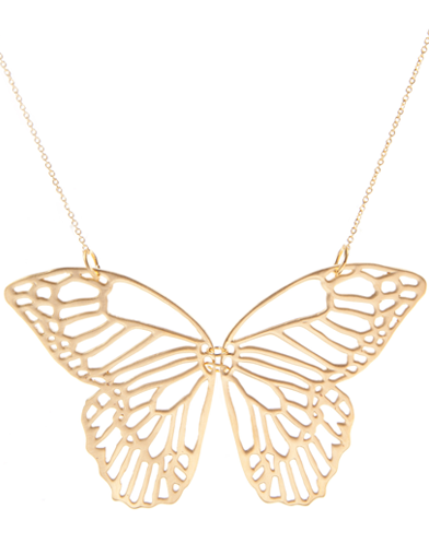 SUN BUTTERFLY NECKLACE