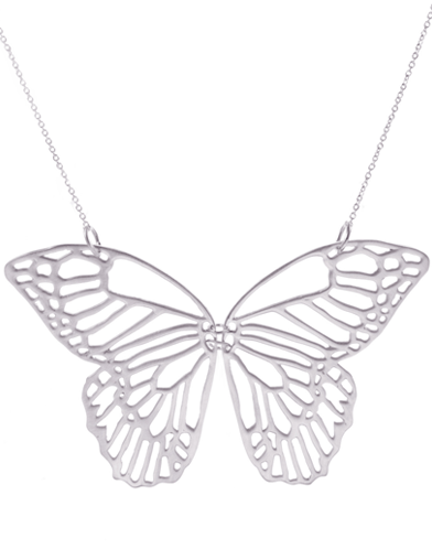 DAY BUTTERFLY NECKLACE