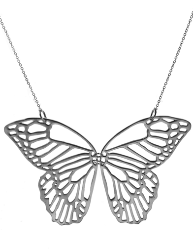 Night Butterfly Necklace Agrigento Designs