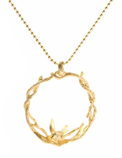 CIRCLE TRELLIS NECKLACE