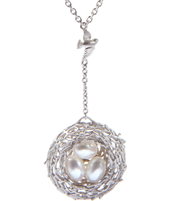 FAMILY NEST SWAYING NECKLACE