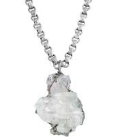 ROCK STEADY QUARTZ NECKLACE