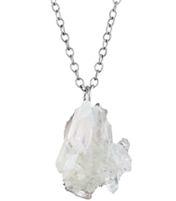 DAY ROCKER QUARTZ NECKLACE
