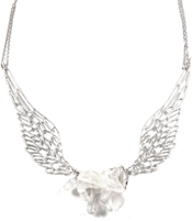 FLYING ROCK QUARTZ NECKLACE