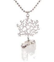 ROOT BOUND QUARTZ NECKLACE