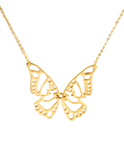 PICCOLO BUTTERFLY NECKLACE