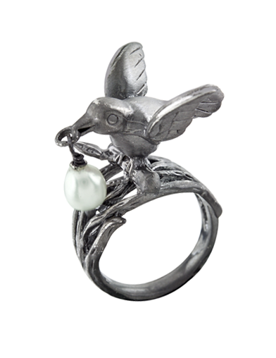PEARL CARRIER RING