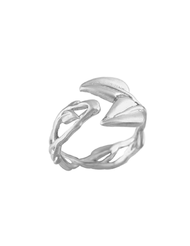 DOUBLE LEAF RING